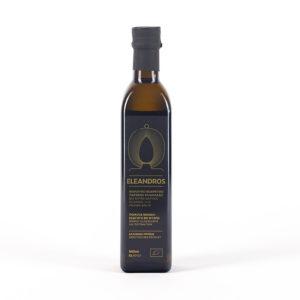 Eleandros natives griechisches Olivenöl Extra 500ml Flasche