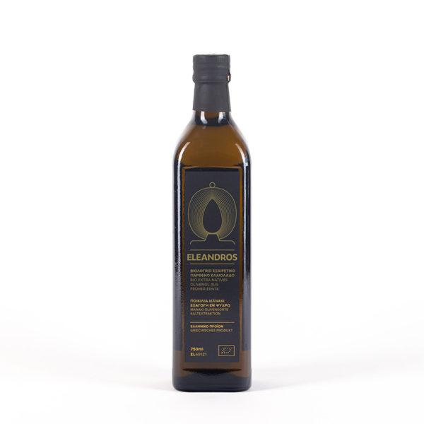 Eleandros natives griechisches Olivenöl Extra 750ml Flasche