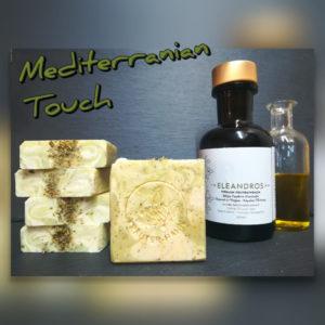 Seife aus Premium-Olivenöl mit mediterranen Kräutern und Kastanienhonig
