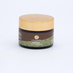 Gesichtssalbe mit Bio-Bienenwachs für die tägliche Gesichtspflege trockener und empfindlicher Haut, für Akne und Falten