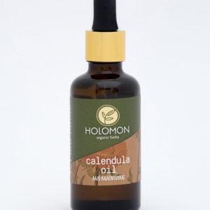 Bio Calendula Öl von Holomon zur intensiven und feuchtigkeitsspendenden Pflege bei Hautirritationen und Hautproblemen aller Art