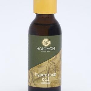 Griechisches Bio-Johanniskrautöl von Holomon mit extra nativem Olivenöl